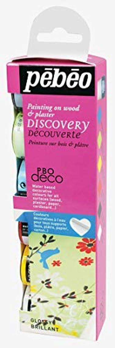 Pebeo Discovery Set 6x20ml P.BO Deco Glossy Craft Paint