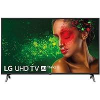 "LG 49UM7100ALEXA - Smart TV 4K UHD de 124 cm (49"") Works With Alexa (procesador Quad Core, HDR y Sonido Ultra Surround) color negro"