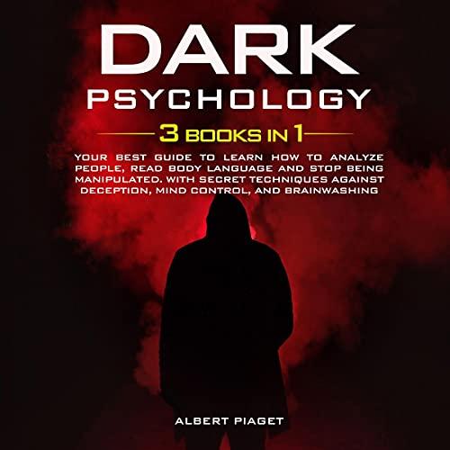 Dark Psychology: (3 books in 1) cover art