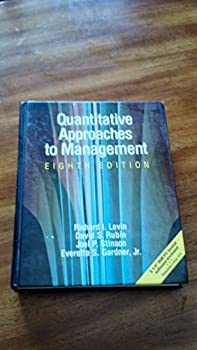 Quantitative Approaches to Management 0079091873 Book Cover