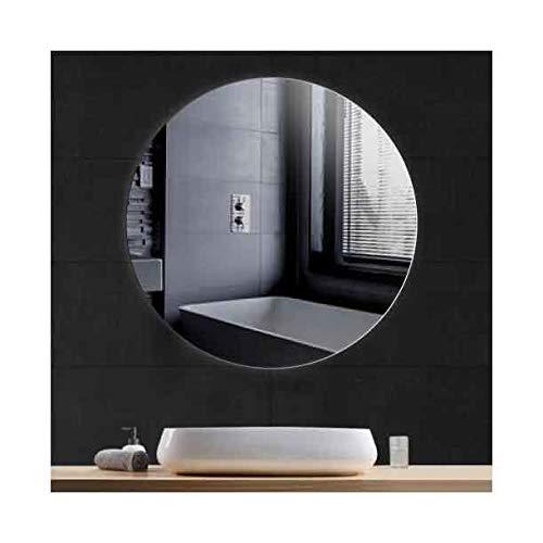 CustomGlass Espejo de Pared Redondo en Varias Medidas con Forma Circular (Redondo 100 cm)