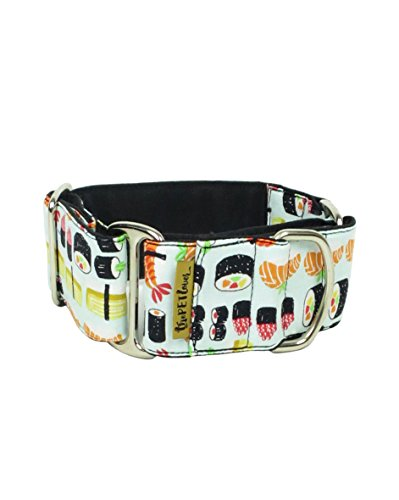 ThePetLover - Collar Martingale Sushi para Perros