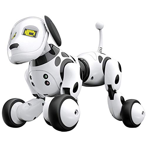 Prom-near Roboter Hund 2,4g Drahtlose Fernbedienung Intelligente Roboter Hund Kinder Smart Robot Dog Interaktion Spielzeug Sprechen Elektronische Pet Spielzeug Geburtstagsgeschenk - englische Version