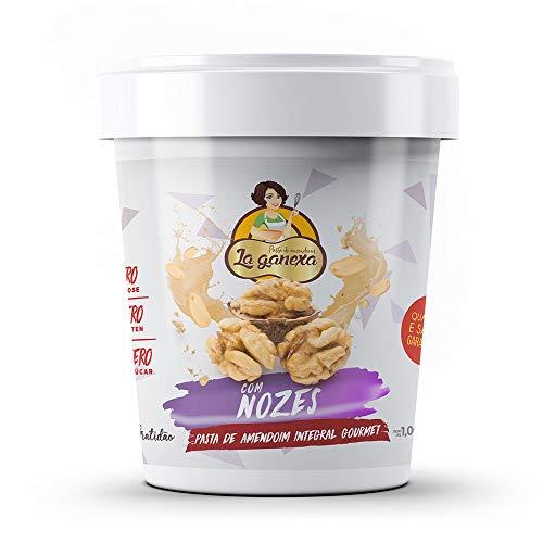 Pasta de Amendoim Integral Gourmet Nozes 1kg La Ganexa