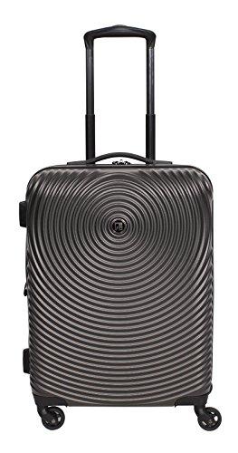Revo Radar Hardside Expandable 20-Inch Spinner, Charcoal