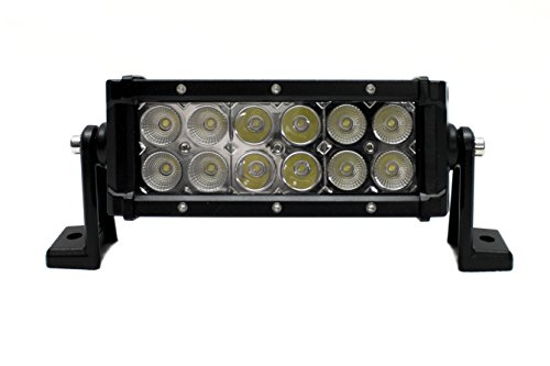 Race Sport Lighting RS836 8in 36-Watt Hi Power LED Performance Light Bar Excursion Series