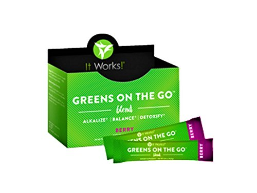 It Works! Greens On The Go Nutritional Supplement