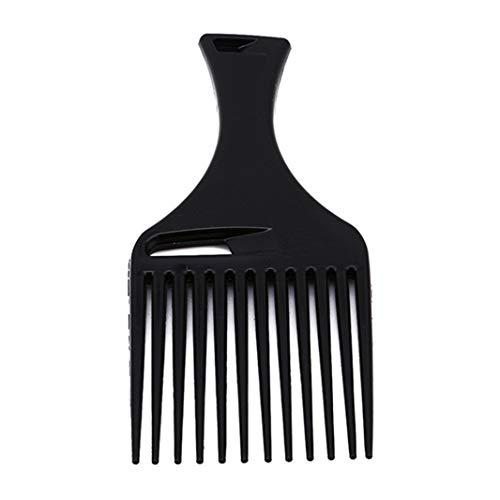 Sperrins 1 pcs Cheveux Noirs Peigne Cheveux Fourche Peigne Insert Coiffure Cheveux Bouclés Brosse Peigne Brosse À Cheveux Styling Outil Pour Hommes Et Femmes
