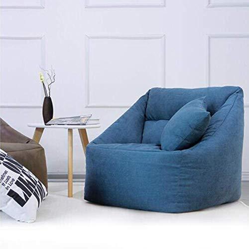 QTQZDD woonkamer zitzak zitzak stoel gaming zitzak ligstoel voor woonkamer slaapkamer balkon kruk (kleur: llow) 4 4