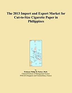 The 2013 Import and Export Market for Cut-to-Size Cigarette Paper in Philippines