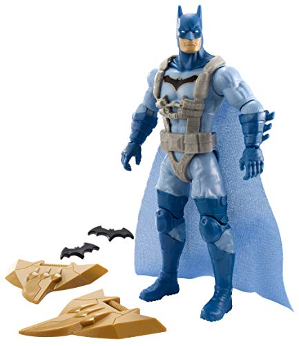 Mattel DC FVM85 Batman Missions Basis Figur (15 cm) Jumper Batman