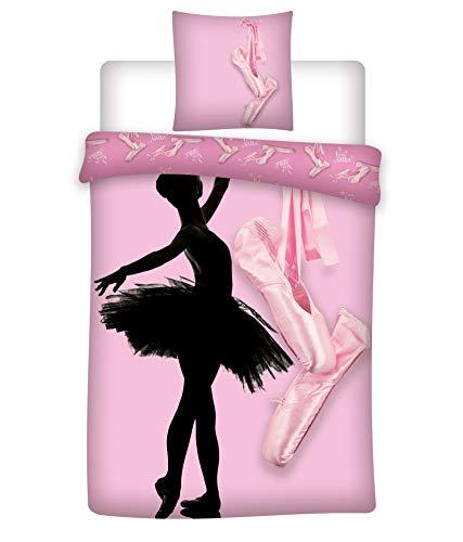 Danseuse Ballerine - Parure de lit Enfant - Housse de Couette