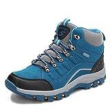 Toride Femmes Bottes de randonnée Hommes Chaussures d'escalade imperméables Automne Hiver Chaussures de randonnée en Plein air Bottes de Trekking antidérapantes décontracté Haut Baskets