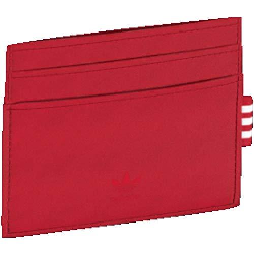 adidas Card Holder, Cartera Unisex Adulto, Rojo (Escarl), 10x5x15 cm (W x H x L)