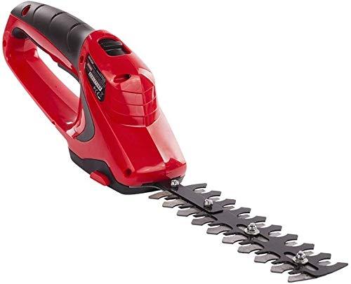 REWD Cortasetos Electrico Baterías Hedge Trimmer Trimmer arbustos Handheld sin Cuerda Tijeras y Cargador Incluido Hedge Trimmers Home and Garden