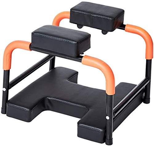 XLNB Yoga Inversion Stuhl,Yoga Hocker Kopfstand Feetup,Yoga Stuhl Klappbar-Bench Trainingsstuhl Ergonomische Design Zur Linderung Von Müdigkeit Family Gym Und Fitness,Leicht Zusammenzubauen