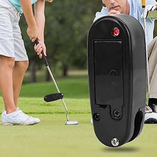 OUUUKL Puntero de Putter de Golf, Corrector de Entrenamiento de Golf Mejora Las Herramientas de Ayuda de Línea y Accesorios de Práctica del Entrenador Que se Conecta a Cualquier Putter (Negro)