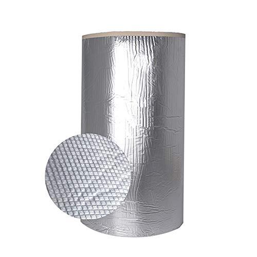 Rohrisolierung, 1 M * 1 M Selbstklebend Kautschuk Isoliermatte, Dämmmatte, Wärmedämmschutz, Dampfsperre, Schallschutzbarriere-Folienmatte