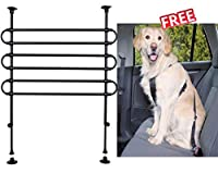 A protective guard 85 – 140 x 75 – 110 cm for your dog is important when travelling by car. Black Width: 85–140 cm Height: 75–110 cm Made from painted metal and very easy to install, it is suitable for hatchbacks and smaller estate cars. The guard is...