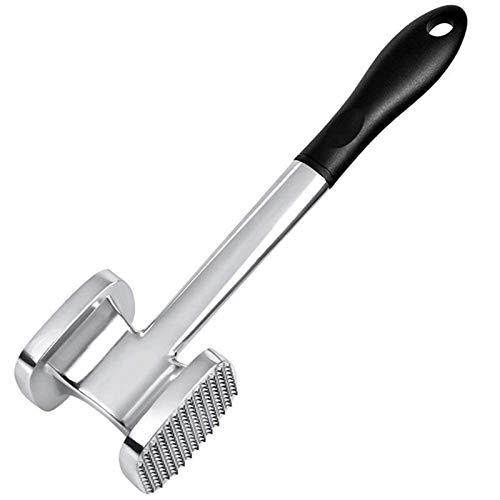 Cuisine Tender à la viande en acier inoxydable acier inoxydable Steak Professionnel Professionnel Hammer Tenderizer Outils de cuisson Ustensiles de cuisine (Color : White)