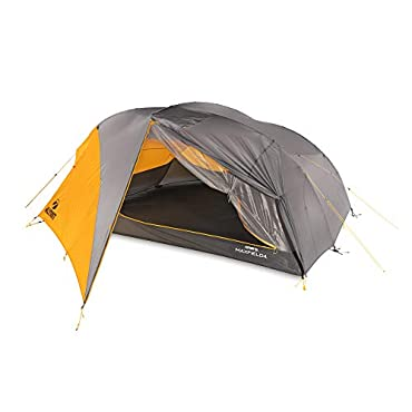 Klymit 09M4OR01D Maxfield 4 Person 3 Season Lightweight Backpacking Camping Tent