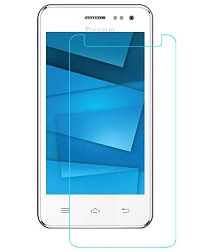 Timbu Edge to Edge Hammer proof screen guard 9H Hardness Anti Fingerprint Anti Glare 033mm HD+ view Crystal Clear Precusely Engineered Tempered Glass for Karbonn Titanium S205