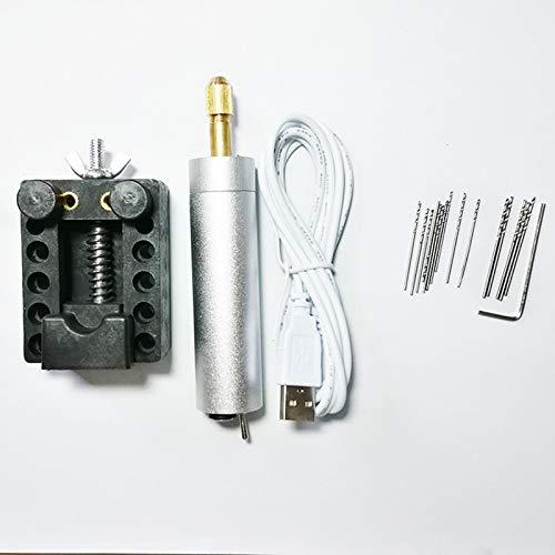 XIMULIZI Mini perceuse Bracelet Perle Perle Bodhi Bodhi Collier électrique pour Polissage Miniature Petite Main