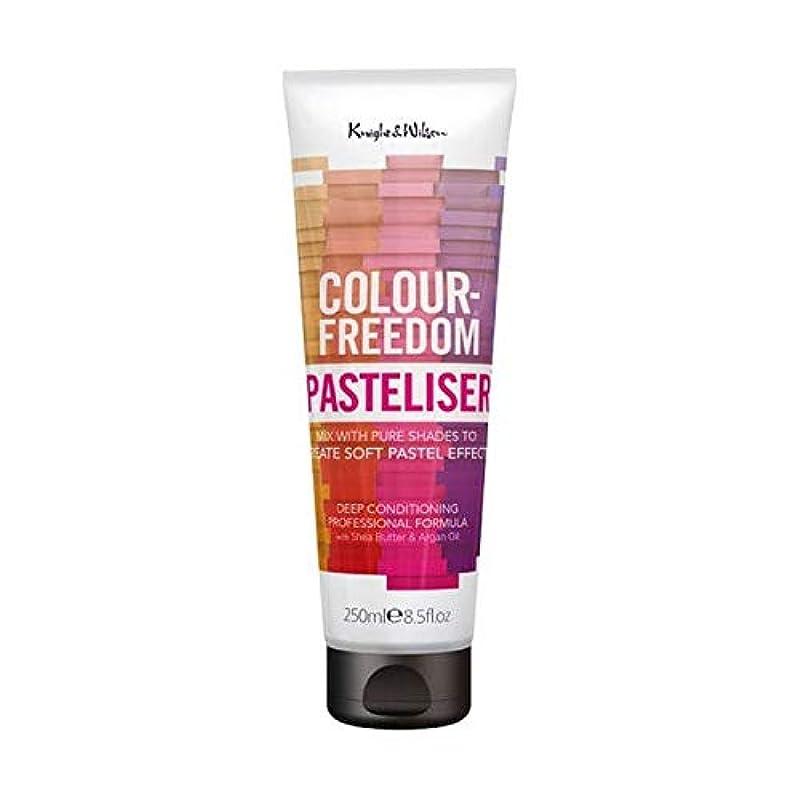 シマウマ世論調査反映する[Colour Freedom ] 250ミリリットルPasteliser色自由 - Colour Freedom Pasteliser 250ml [並行輸入品]