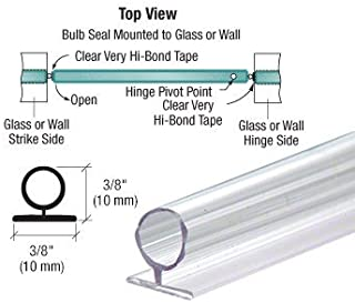 CRL Large Translucent Vinyl Bulb Seal - 95 in long by C.R. Laurence