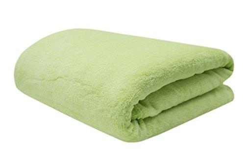 ZOLLNER knuffeldeken, groene 220x240 cm (andere kleuren en maten beschikbaar)