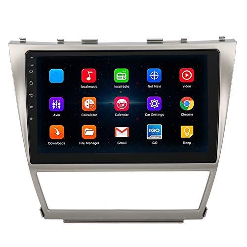 MP5 Player Car Music 10.1in Car MP5 Player con navegación GPS WIFI BT Radio Stereo Map para Android 8.1 Apto para Camry 40 2006-2011