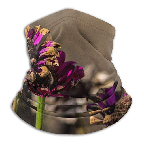 XZfly planten op de rand van de dood mode Fleece hals Warmer multifunctionele hoofdband voor mannen en vrouwen Sport ma-sk