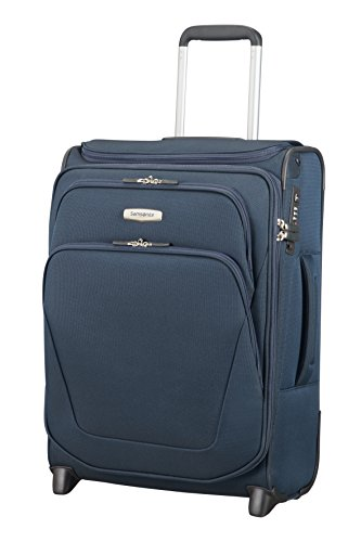 Samsonite Spark SNG Upright S Toppocket Expendable Bagaglio a mano, 55 cm, 48.5 L, Blu (Blue)