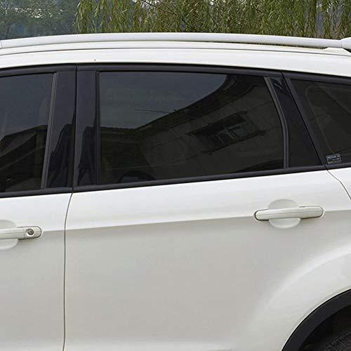 VLT Venster Film Huis Tint Decor Zonnescherm Auto Anti-Fading Thuis Zwart Glas