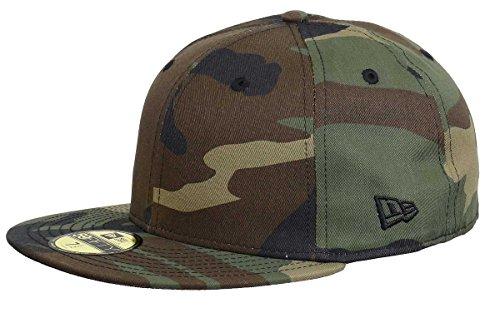 New Era 59fifty Basecap Blank Woodcamo 7 12 60cm Camouflage
