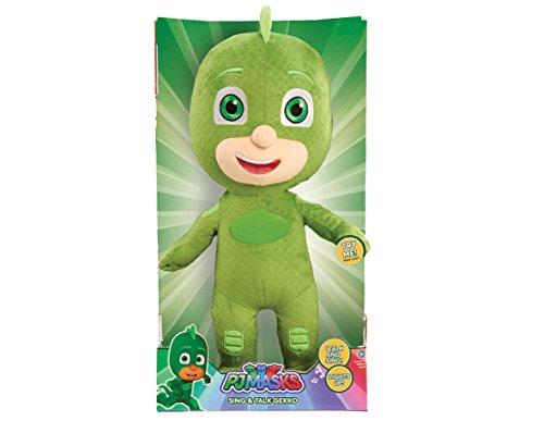 PJ Masks Sing & Talk Plush Gekko, Green