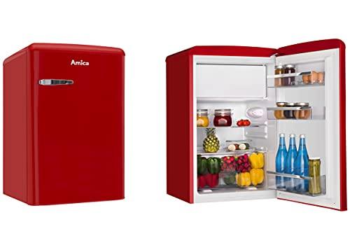 Amica KS15610R nevera y congelador Independiente Rojo A++