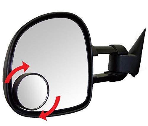 (76mm rund) Zusätzlicher Rückspiegel Toter Winkel Spiegel Auto Blind Spot Spiegel Trailer