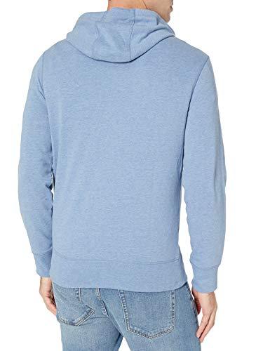 415fs+wRUpL - Amazon Essentials Men's Lightweight French Terry Full-Zip Hooded Sweatshirt