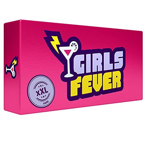 ZENAGAME Girls Fever - Juego para Despedida de Soltera y Fiestas Entre Chicas, Juego de Cartas