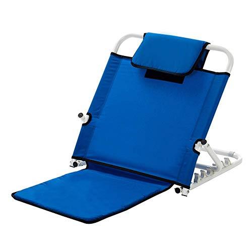 LIQICAI-Respaldo De La Cama for Enfermería Paciente O Anciano Ajuste De Arco De 6 Grados, 2 Colores (Color : Blue, Size : 51x55x62cm)