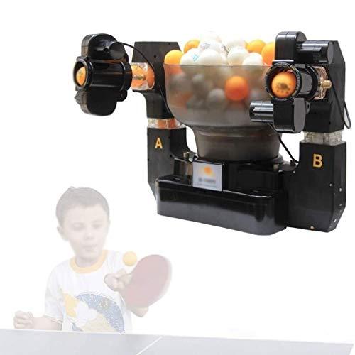 GSS-Rollstühle Automatische Tischtennisballmaschine Einzel/Dualball-Optionen erhältlich, Multi-Rotations- und Multi-Drop-Servicemaschine Die 2 Antriebe Machen die Drehgeschwindigkeit einstellbar