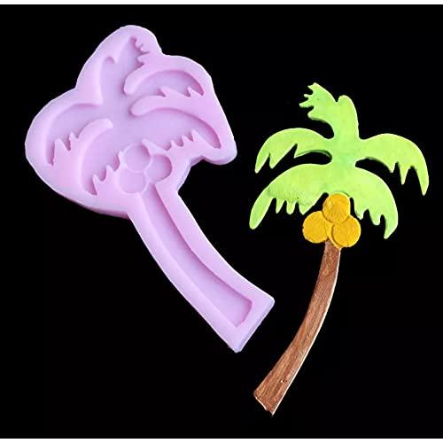 Formysilikonowe formy do ciast, Seria drzewa kokosowego żel krzemionkowy formy DIY krówka forma czekoladowa żywica aromatyczna forma wosku gipsowego