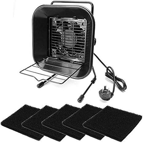 GZD 30W Solder Smoke Absorber, Fume Extractor Ventilador, Filtro Soldadura Amortiguador de Hierro, Solder Solder Hume & Smoke Extractores