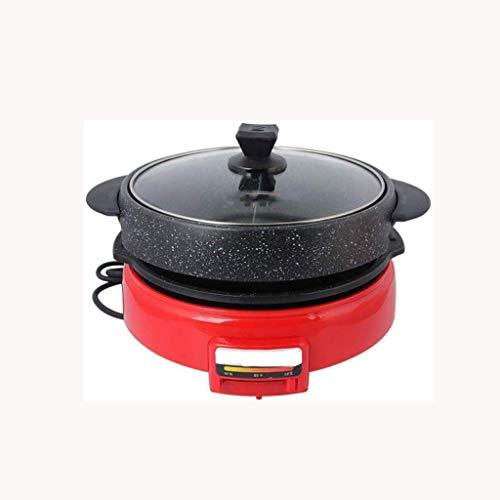 XXDTG Multi Cooker, Doble Sabor Picante Olla con Tapa de Vidrio, Olla...