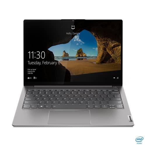 Lenovo ThinkBook 13s G2 ITL - Ordenador portátil 13.3' QXGA (Intel Core i7-1165G7, 16GB RAM, 1TB SSD, Intel Iris Xe Graphics, Windows 10 Pro), Color Gris - Teclado QWERTY Español