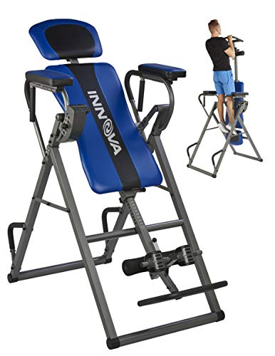 Innova ITP1000 12-in-1 Inversion Table with Power Tower Workout Station