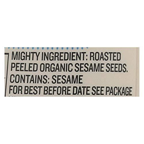Gourmet Organic Tahini Paste | Gourmet, Vegan, Kosher, Gluten Free, and No Added Sugar 10.9 oz Convenient Squeeze Bottle. (Fine Sesame Tahini 2Pack)