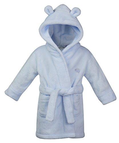 Bata de baño para bebé con capucha