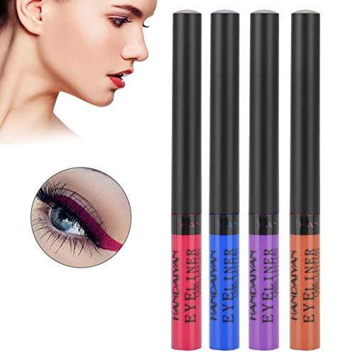 Eye Liner, 4 PCS Longue Durée Étanche Liquide Eyeliner Crayon Maquillage Des Yeux Outil Cosmétique(4pcs)